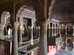 The balcony from which Tipu Sultan addressed the commoners. Elites were on the other side.