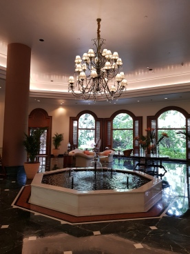 The Oberoi lobby