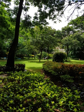 Oberoi grounds