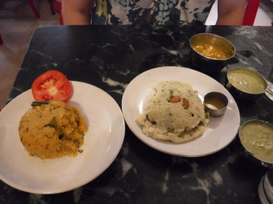 Rava Idli and Kharabhath
