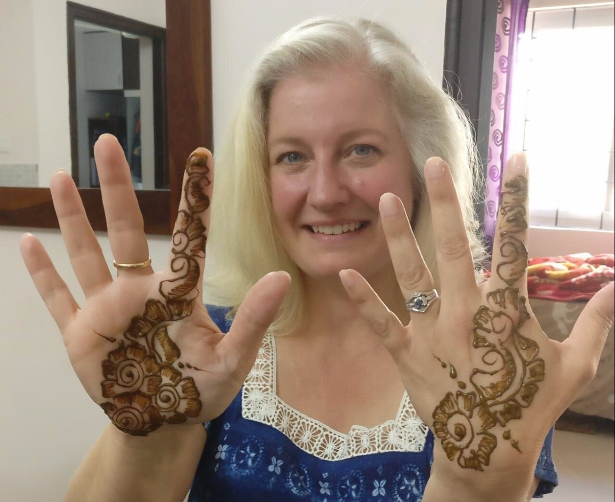 Melissa's Musings: A birthday in India
