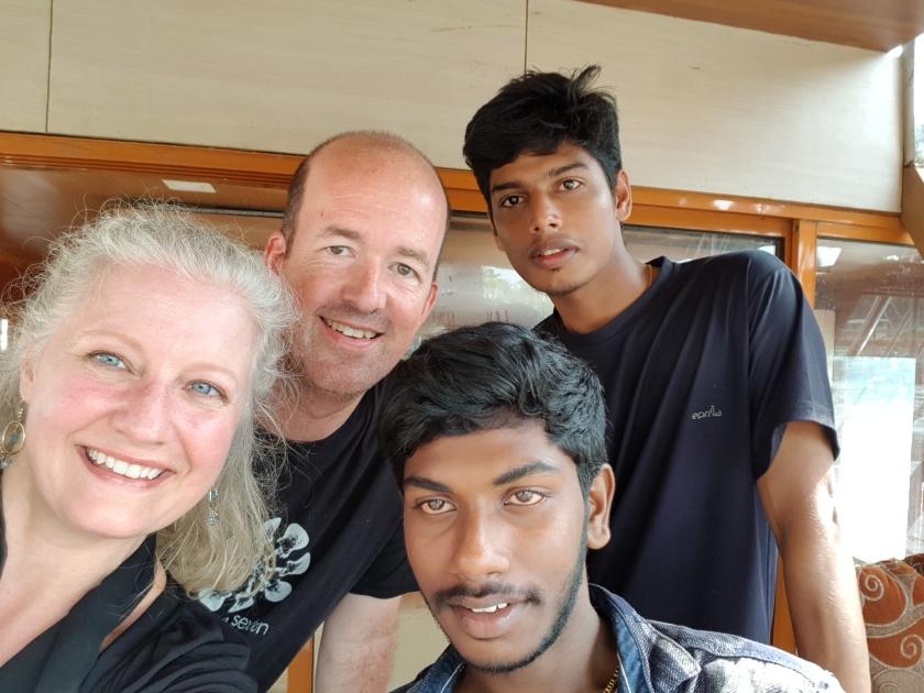 Houseboat crew