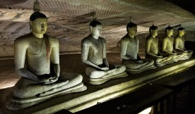 More seated Buddhas