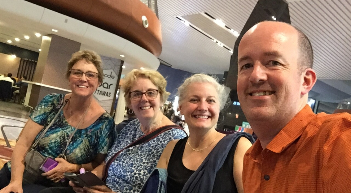 Travels with Melissa's Aunties