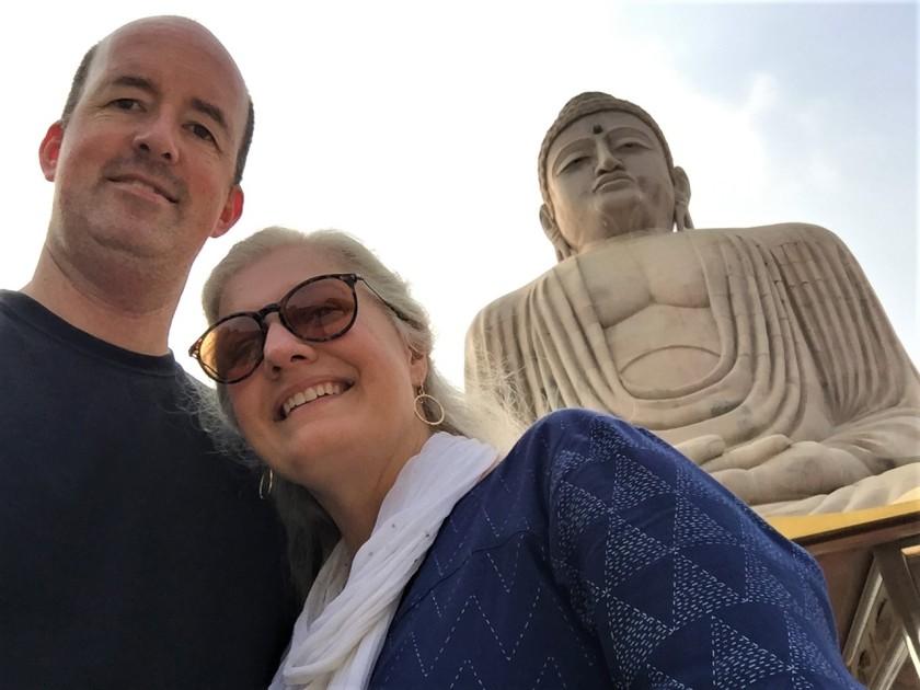 Buddha selfie