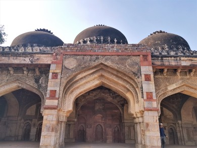 The mosque at Bara Gumbad.