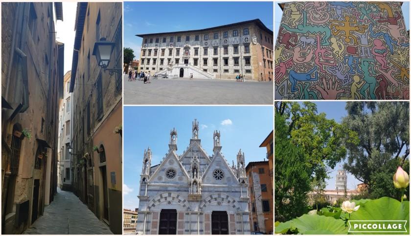 Collage Pisa roaming