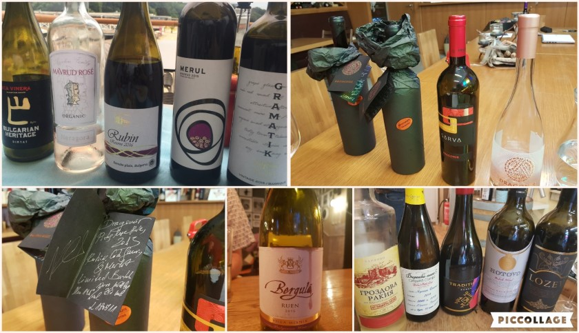 Collage Wines of Bulgaria